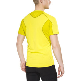 Dynafit Trail - Camiseta manga corta Hombre - amarillo